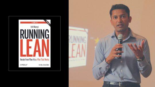 Running Lean di Ash Maurya